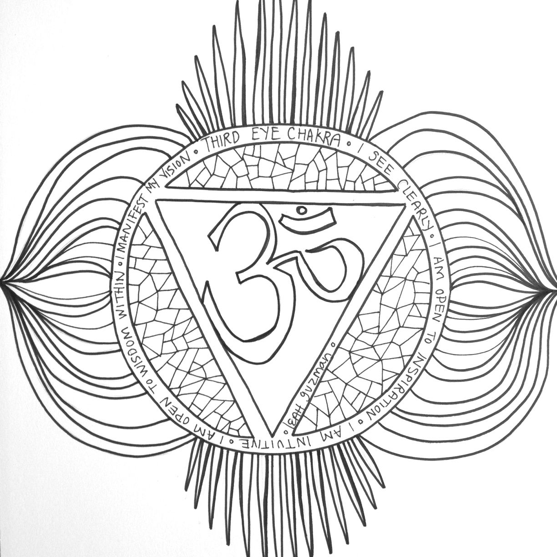 Chakra 6 Third Eye