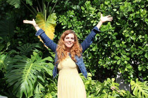 artist, Leah Guzman, art therapist