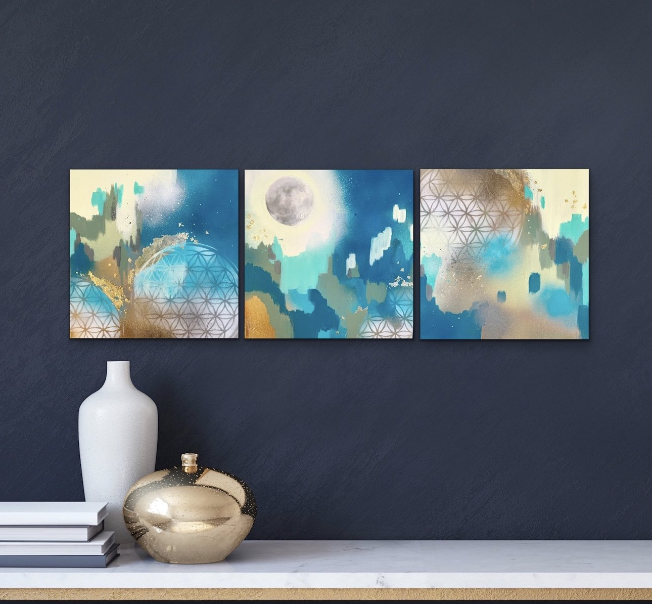 galleries, Leah Guzman, art