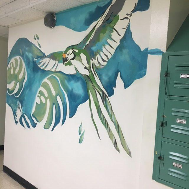 Palmetto Middle Mural
