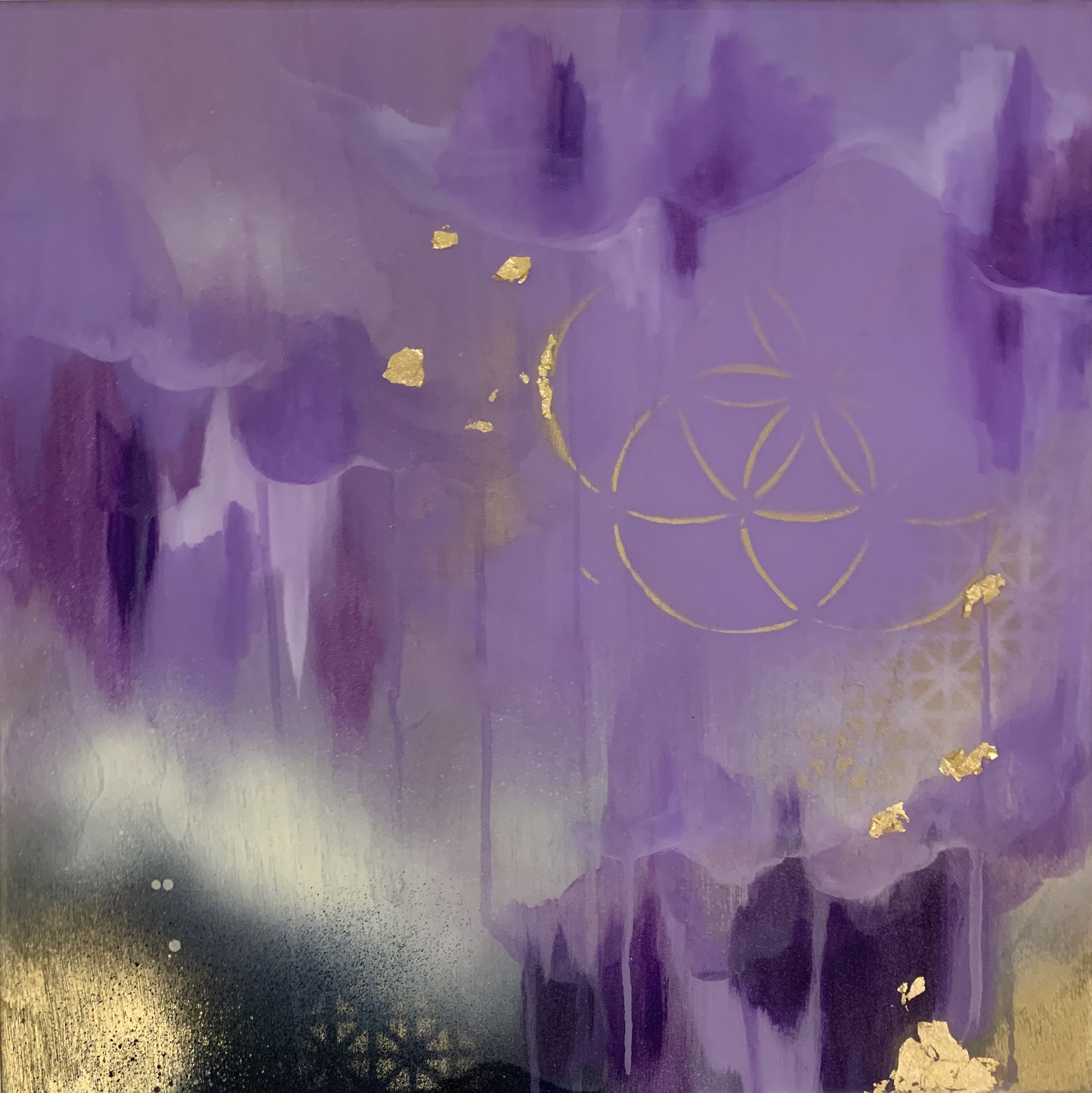 Crown Chakra Painting